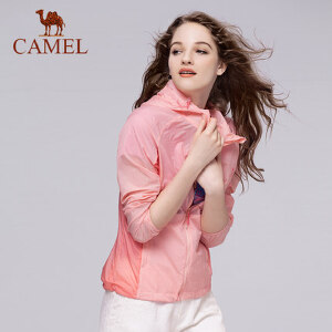 camel骆驼户外皮肤衣 女薄款透气春夏皮肤风衣