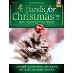 【预订】4-Hands for Christmas, Vol. 2: More Sparkling Piano Due