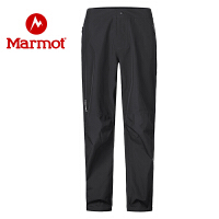 Marmot/土拨鼠2020春夏新款户外防风防水保暖舒适男士冲锋裤