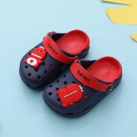 儿童拖鞋夏男女童洞洞鞋小童室内家用外穿可爱恐龙宝宝凉拖鞋防滑
