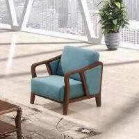 鑫宣美XM-SF111布艺沙发休闲沙发单人位