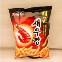 韩国进口食品农心 虾条辣生鲜虾制成 经典零食品 400g袋