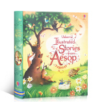 英文原版故事书 Usborne Illustrated Stories from Aesop 伊索寓言 全彩插图精装