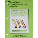 预定原版 Worksheets for Classroom or Lab Practice for Mathemati