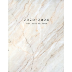 预订 2020-2024 Five Year Planner: Large 60-Month Schedule Org