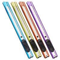 得力(deli) 2066 小号金属彩色美工刀 小型优质合金钢裁纸刀