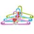 美丽雅 防滑 塑料 大衣架 5支装 花语系列 HC002678