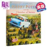 【中商原版】哈利波特与密室(插图精装版) 英文原版Harry Potter and the Chamber of Se