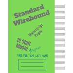 预订 Standard Wirebound Manu* Paper Blank Sheet: Blank Sheet