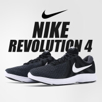 NIKE耐克2019年新款男鞋 REVOLUTION 4 透气轻便运动跑步鞋908988-001