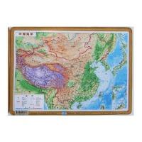 地图 凹凸地图 凹凸立体地理 中国地形图 22x30cm 星球版