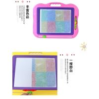 儿童画板磁性笔彩色写字板小孩宝宝可擦涂鸦画板2岁幼儿