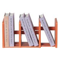 好事达 小书架儿童桌上拉伸收纳架子彩色书架