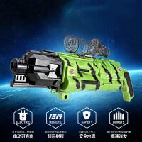 活石 儿童玩具水弹枪狙击枪充电动连发水弹枪猎豹可发射软子弹枪男孩玩具
