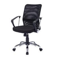 【品牌直供】日本SANWA SNC-NET16ABK 办公家具 办公椅子 家用电脑椅 职员椅 时尚旋转椅网椅 升降椅