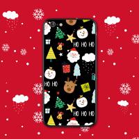 苹果8plus手机壳7plus磨砂黑色硅胶iPhone7软壳6s女保护套圣诞节全包防摔8八可爱挂绳X卡通萌新款6plu
