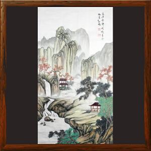 《幽谷春馨》孙亮-中国美协会员,中国书协会员【HOOML2388】