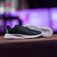 李宁跑步鞋男鞋2017新款清灵轻便透气休闲鞋情侣鞋男士运动鞋ARJM003