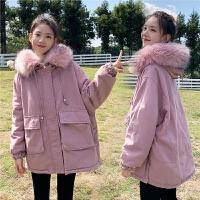 孕后期秋冬款棉衣棉袄外套韩版宽松孕妇冬装棉衣外套