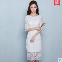 改良版新款 旗袍连衣裙蕾丝 韩版日常少女中长款学生中国风