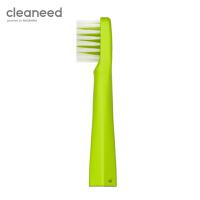 cleaneed电动牙刷头 成人 声波柔软敏感不伤齿 高伟光同款 单独刷头 青柠色*1