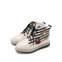【159元任选2双】他她tata童鞋女童休闲鞋户外男童马丁靴冬季