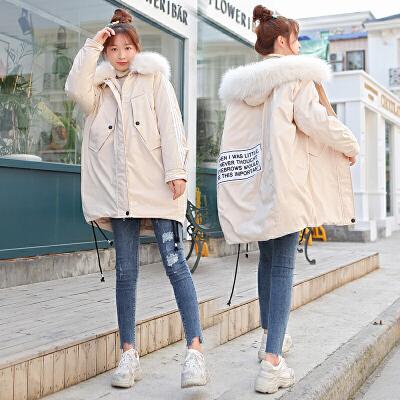 2019冬季孕妇棉衣孕后期韩版宽松加厚棉袄外套