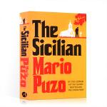 【发顺丰】英文原版 The Sicilian 教父三部曲 2西西里人 The Godfather 马里奥・普佐
