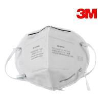 3M 防尘口罩 9001A 折叠式防灰尘防护口罩(头戴式)(两个装)