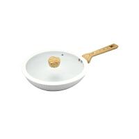 现代工匠 金品陶瓷涂层炒锅XDCG-715陶瓷无油烟不沾锅电磁炉通用28cm