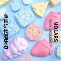 �}鼠磨牙石棒用品�O果枝�干兔子���金�z熊零食�Z食玩具�M合套餐