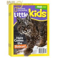 National geographic little kids NG美国国家地理幼儿版 2018年全年杂志订阅新刊预订1年共6期3月起订