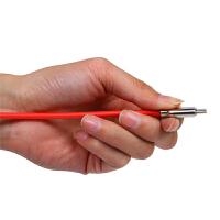 英米 荧光安卓通用数据线S10 红色