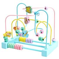 婴儿童绕珠早教益智力玩具多功能串珠男孩女孩宝宝0积木1-2-3岁半