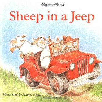 Sheep in a Jeep    ISBN:9780395470305