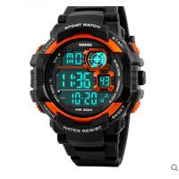 多功能男士手表大表盘电子表防水个性户外运动男学生腕表