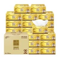 清�L金�b抽�巾24包整箱��惠�b家用餐巾�抽家庭�b原木�品�l生�