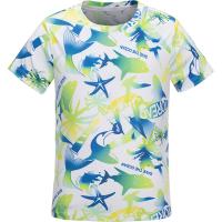 【79元专区,到手价:69元】探路者童装夏装2021春夏新品户外印花速干男童短袖T恤QAJJ83005