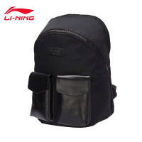 李宁双肩包男包女包运动时尚系列书包学生电脑包运动包ABSM422
