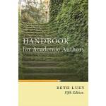 【预订】Handbook for Academic Authors