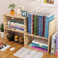 老睢坊 书架置物架简易桌上学生用儿童小书架办公书桌面收纳宿舍书柜组合