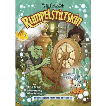 预订 Rumpelstiltskin: An Interactive Fairy Tale Adventure [ISBN:9781515787778] 美国发货无法退货 约五到八周到货