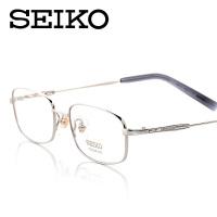 精工眼镜 眼镜框近视男款 纯钛眼镜架全框近视眼镜H1060