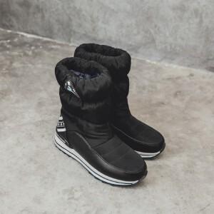 O'SHELL欧希尔新品119-7001休闲 +防水羽绒布+太空棉亲子雪地靴
