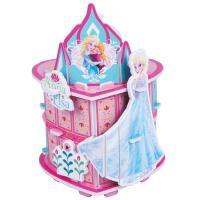 【当当自营】迪士尼拼图 3D立体场景拼图 冰雪奇缘艾莎安娜公主 桌面摆件17DF2100