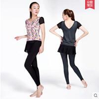 健身房运动服两件套瑜伽服女修身显瘦含胸垫裤裙 可礼品卡支付