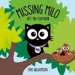 英文原版Missing Milo迷路的黑猫米露 翻翻书 互动游戏书