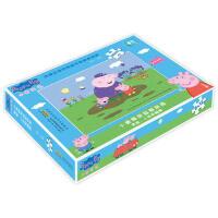 小猪佩奇益智拼图:青蛙、小虫和蝴蝶