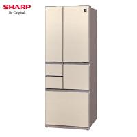 Sharp/夏普502升大冰箱日本原装进口多门风冷无霜SJ-GT50A-N冰箱