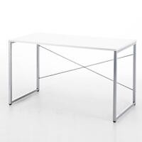 【品牌直供】日本SANWA 100-DESK046 简洁大方的办公桌 包邮电脑桌台式桌写字台 简约时尚书桌